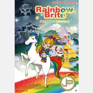 jeu rétro gaming rainbow brite